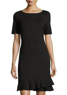 Diane von Furstenberg Serafina Ruffle-Hem Dress