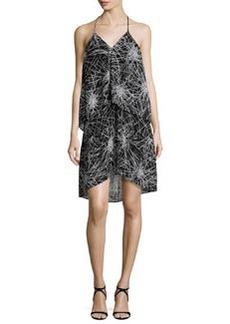 Diane von Furstenberg Serana Popover Halter Dress