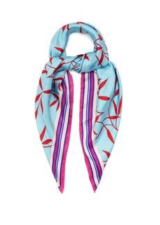 Diane Von Furstenberg Shelton-print silk scarf