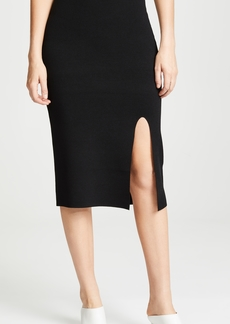 Diane von Furstenberg Side Slit Pencil Skirt