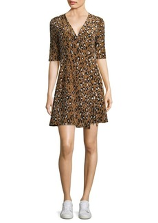 Diane Von Furstenberg Silk Savilla Dress