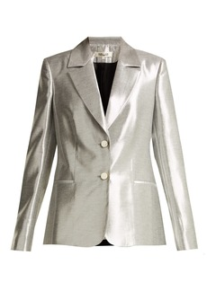Diane Von Furstenberg Single-breasted twill blazer