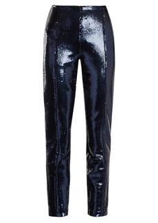 Diane Von Furstenberg Skinny sequin-embellished trousers
