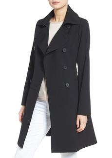 Diane von Furstenberg Skirted Trench Coat