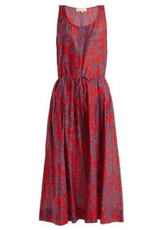 Diane Von Furstenberg Sleeveless cotton and silk-blend dress