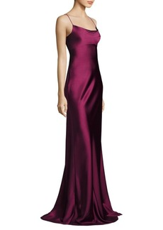 Diane von Furstenberg Sleeveless Floor-Lenght Gown