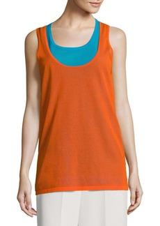 Diane Von Furstenberg Sleeveless Knit Top