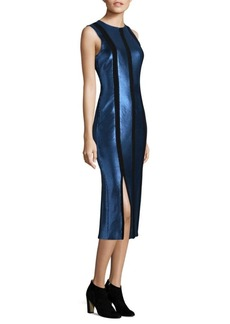 Diane Von Furstenberg Sleeveless Tailored Panel Dress