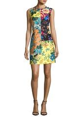 Diane von Furstenberg Sleeveless Tailored Paneled Shift Dress