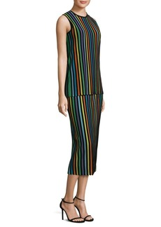 Diane Von Furstenberg Sleeveless Knit Shift Dress
