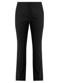 Diane Von Furstenberg Slim-leg stretch-wool trousers