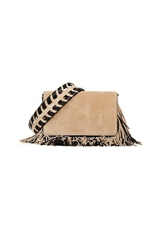 Diane von Furstenberg Soiree Fringe Cross Body Bag