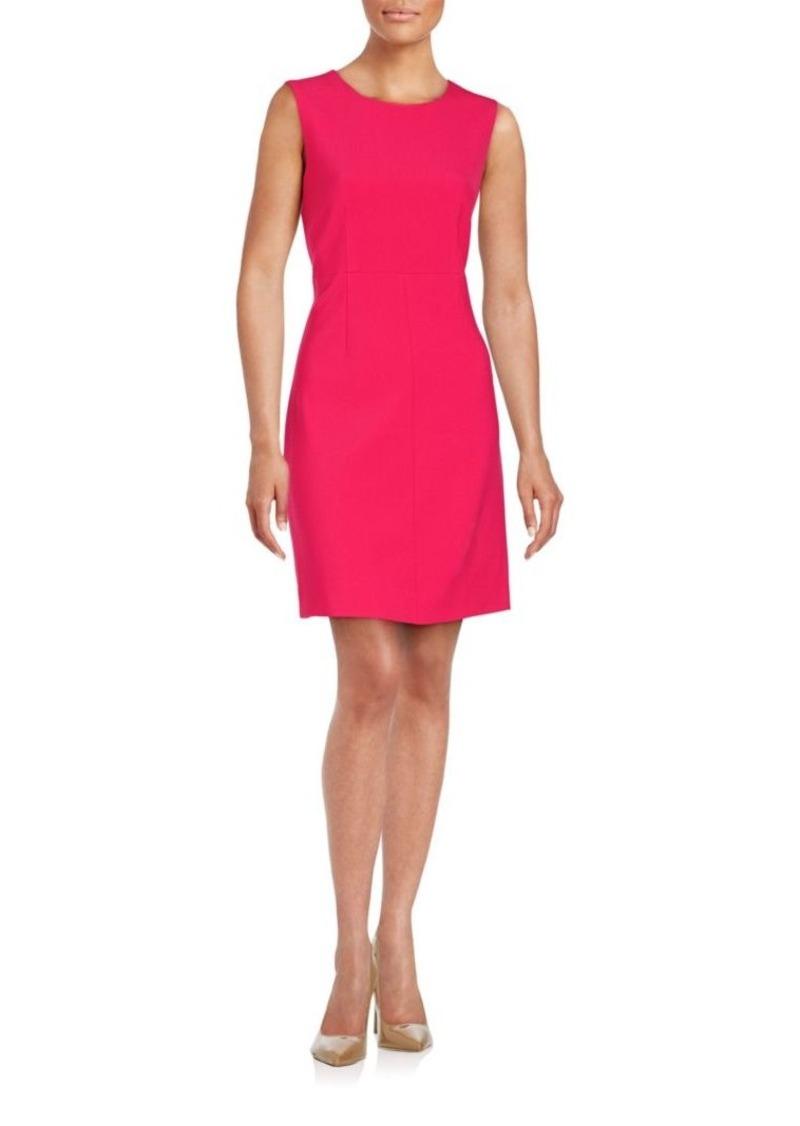 Diane von Furstenberg Solid Sleeveless Dress