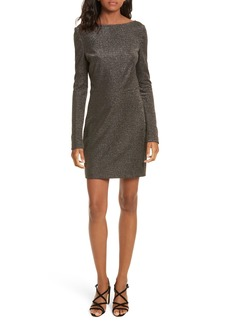 Diane von Furstenberg Sparkle Sheath Minidress