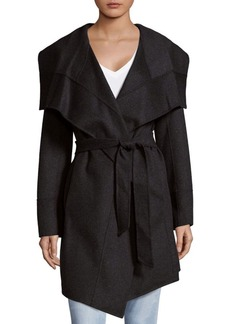 Diane von Furstenberg Stacy Wrap Long Coat