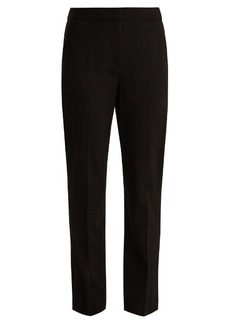 Diane Von Furstenberg Straight-leg stretch-wool trousers