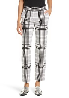 Diane von Furstenberg Stretch Cotton Trousers