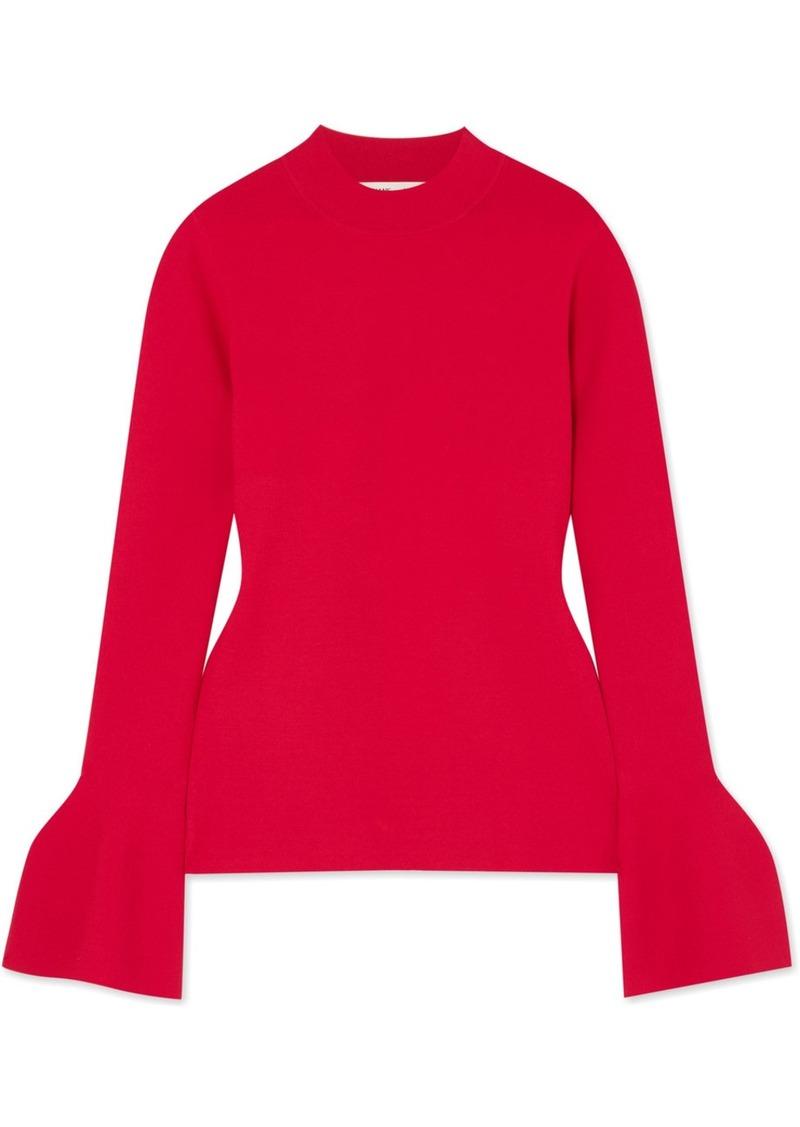 Diane Von Furstenberg Stretch-knit Top