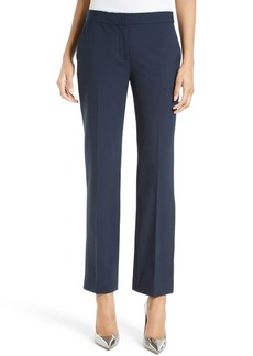 Diane von Furstenberg Stretch Wool Cigarette Pants