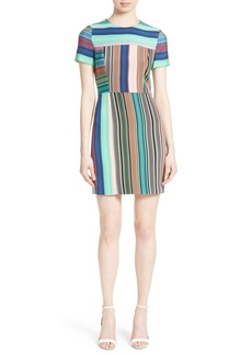 Diane von Furstenberg Stripe Tailored Dress