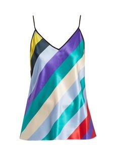 Diane Von Furstenberg Striped cami top
