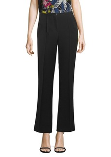 Diane Von Furstenberg Striped Cropped Pants
