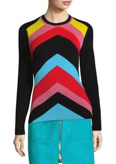 Diane Von Furstenberg Striped Pullover