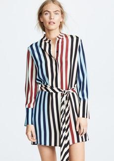 Diane von Furstenberg Striped Shirt Dress