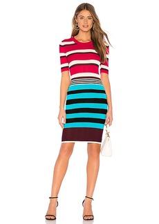 Diane von Furstenberg Striped Sweater Dress