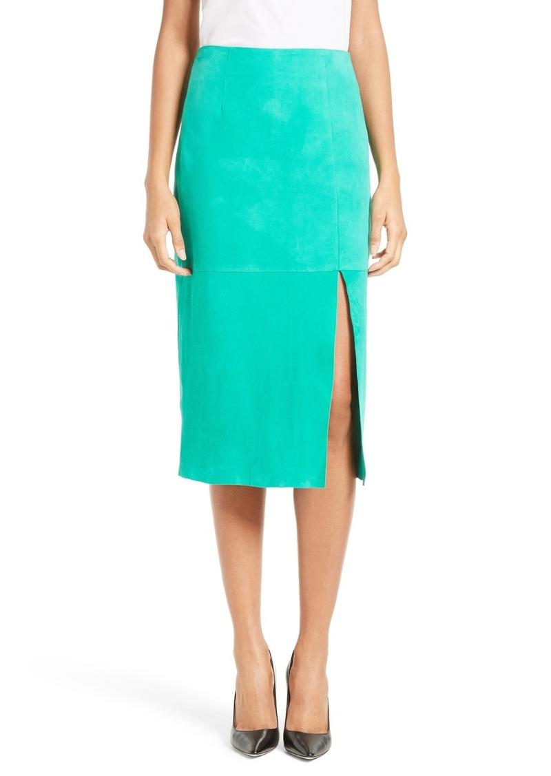 049f5ba794 Diane Von Furstenberg Diane von Furstenberg Suede Pencil Skirt | Skirts