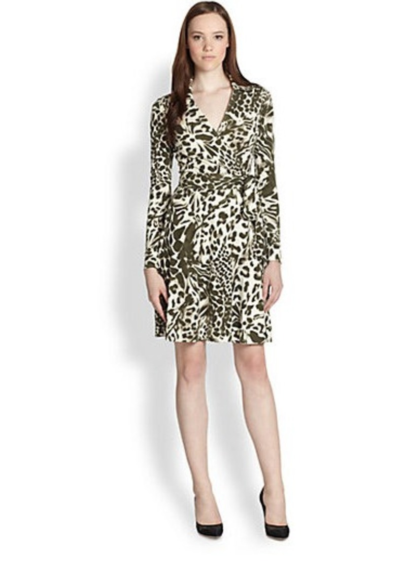 diane von furstenberg diane von furstenberg t72 printed silk wrap dress dresses shop it to me. Black Bedroom Furniture Sets. Home Design Ideas