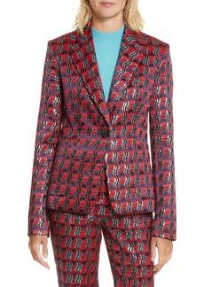 Diane von Furstenberg Tailored Jacquard Jacket