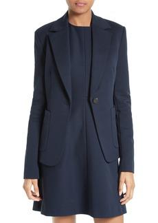 Diane von Furstenberg Tailored One-Button Jacket