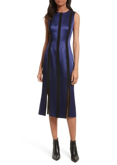 Diane von Furstenberg Tailored Panel Midi Dress
