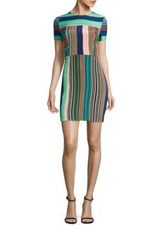 Diane von Furstenberg Tailored Short Sleeve Dress