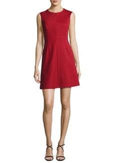 Diane von Furstenberg Tailored Sleeveless A-Line Dress