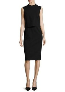 Diane von Furstenberg Tali Popover Sleeveless Sheath Dress