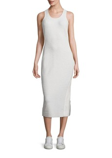 Diane von Furstenberg Teyla Side Stripe Midi Dress