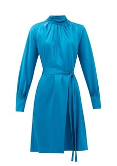 Diane Von Furstenberg Veda belted satin dress