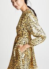 Diane von Furstenberg Waist Tie Mini Dress