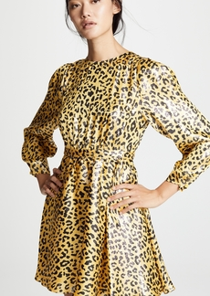 Diane von Furstenberg Waist Tie Mini Dress