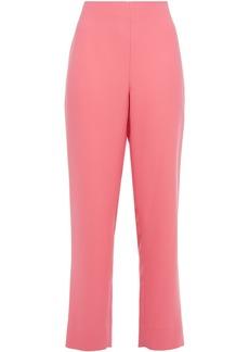 Diane Von Furstenberg Woman Crepe Straight-leg Pants Bubblegum