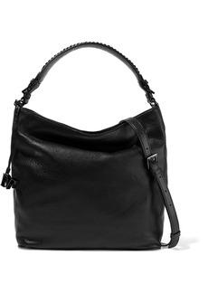Diane Von Furstenberg Woman Iggy Pebbled-leather Tote Black
