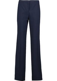 Diane Von Furstenberg Woman Katara Wool Wide-leg Pants Navy