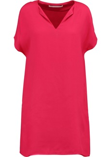Diane Von Furstenberg Woman Kora Satin-crepe Dress Bubblegum