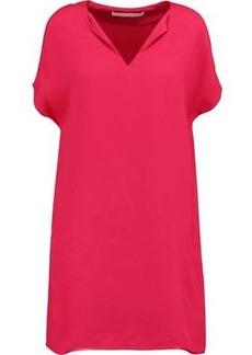Diane Von Furstenberg Woman Kora Satin-crepe Dress Bubblegum