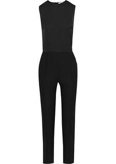 Diane Von Furstenberg Woman Melody Satin-crepe Jumpsuit Black