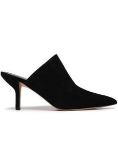 Diane Von Furstenberg Woman Mid Heel Pumps Black