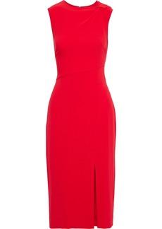 Diane Von Furstenberg Woman Mina Twist-front Stretch-crepe Midi Dress Red