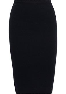 Diane Von Furstenberg Woman Minda Stretch-jersey Pencil Skirt Black